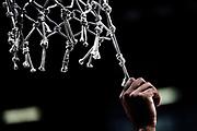 mani, retina<br /> Virtus Segafredo Bologna - Grissin Bon Reggio Emilia<br /> LegaBasket Serie A 2017/2018<br /> Bologna, 13/01/2018<br /> Foto M.Ceretti / Ciamillo - Castoria