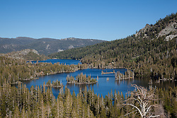 """Echo Lakes 1"" - Photograph of Upper and Lower Echo Lakes, located at the edge of Desolation Wilderness, Tahoe."
