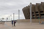Belo Horizonte_MG, Brasil.<br /> <br /> Estadio Governador Magalhaes Pinto (Mineirao) na Pampulha, Minas Gerais. <br /> The Governador Magalhaes Pinto stadium (Mineirao) in Pampulha, Minas Gerais.<br /> <br /> Foto: JOAO MARCOS ROSA / NITRO