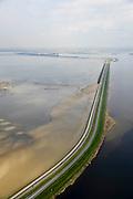 Nederland, Zeeland, Oosterschelde, 01-04-2016; Oesterdam gezien met rechts Schelde-Rijnverbinding. Verdronken van van Zuid-Beveland in de voorgrond.<br /> <br /> luchtfoto (toeslag op standard tarieven);<br /> aerial photo (additional fee required);<br /> copyright foto/photo Siebe Swart