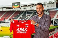ALKMAAR - 20-10-2015, Mounir El Hamdaoui , AFAS Stadion,