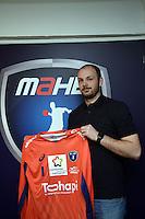 Vincent Gerard  - 20.04.2015 - Presentation - Nouveau joueur de Montpellier<br />Photo : Alexandre Dimou / Icon Sport