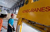 KoneCranes in Oji Paper factory