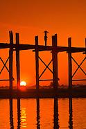 Burma (Myanmar)-Mandalay, Sagaing & U-Bein Bridge