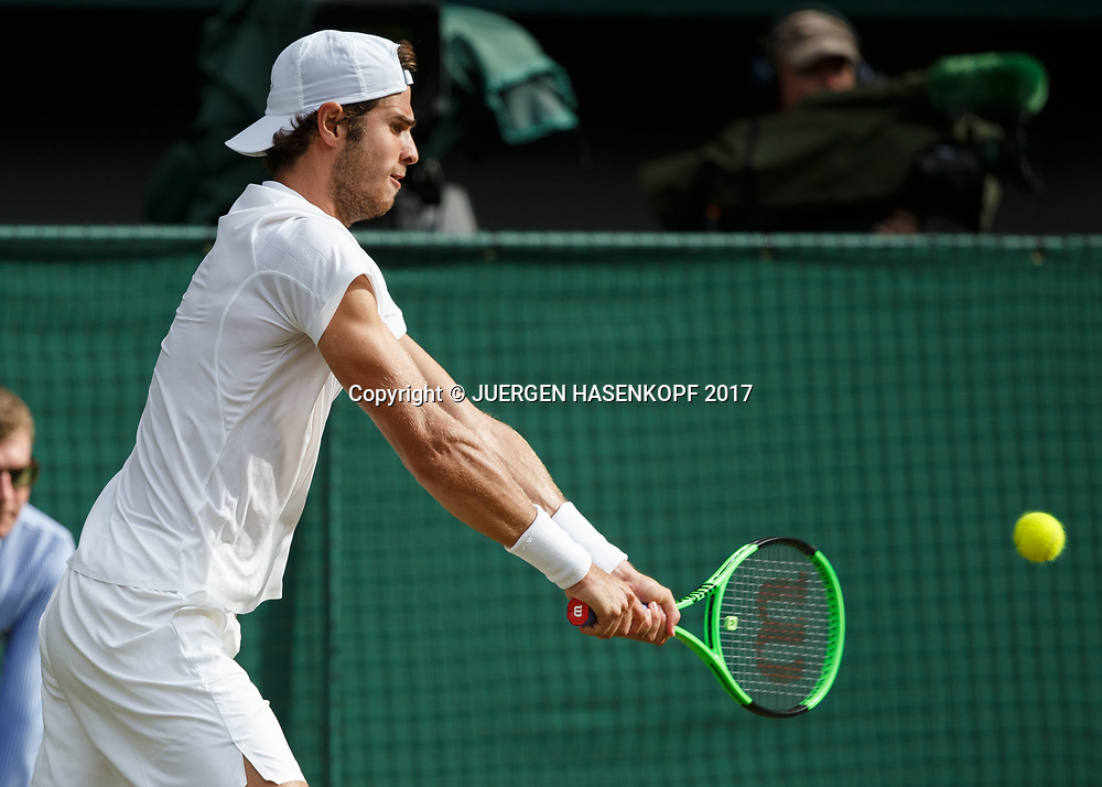 KAREN KHACHANOV (RUS)<br /> <br /> Tennis - Wimbledon 2017 - Grand Slam ITF / ATP / WTA -  AELTC - London -  - Great Britain  - 7 July 2017.