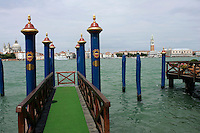 Pier at the Hotel Cipriani, Venice --- Image by Owen Franken