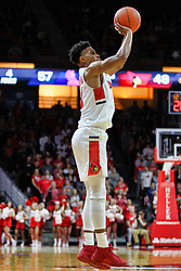NORMAL, IL - December 08: Zach Copeland during a college basketball game between the ISU Redbirds and the University of Mississippi (Ole Miss) Rebels on December 08 2018 at Redbird Arena in Normal, IL. (Photo by Alan Look)