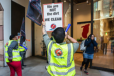 2019-09-18 CAIWU cleaners protest outside WeWork
