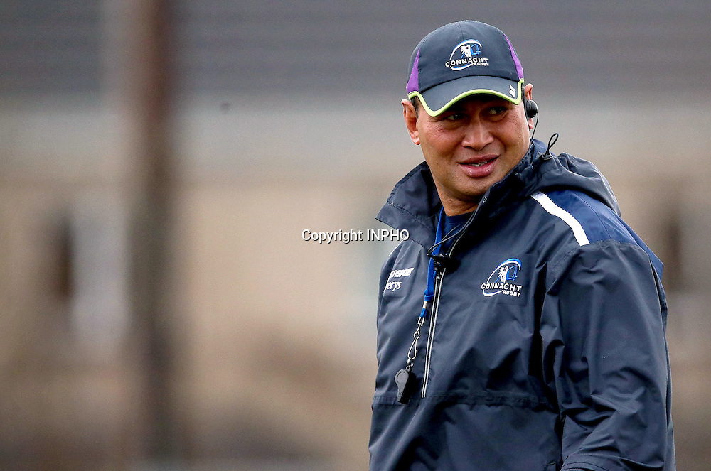 Connacht Rugby Training, Sportsground, Galway 7/12/2016<br /> Head Coach Pat Lam<br /> Mandatory Credit &copy;INPHO/Tommy Dickson