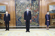 061720 King Felipe of Spain attends the presentation Credential Letters from the new ambassadors