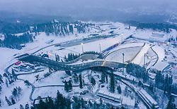 08.03.2019, Holmenkollen, Oslo, NOR, FIS Weltcup Ski Sprung, Raw Air, Oslo, im Bild die Skisprunganlge am Holmenkollen // the Holmenkollbakken and the Skijumpingstadium before the 1st Stage of the Raw Air Series of FIS Ski Jumping World Cup at the Holmenkollen in Oslo, Norway on 2019/03/08. EXPA Pictures © 2019, PhotoCredit: EXPA/ JFK