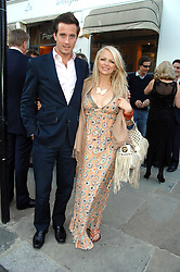 HANNAH SANDLING and OLIVER FELSTEAD at the launch of The Rupert Lund Showroom, 61 Chelsea Manor Street, London SW3 on 2nd May 2007.<br />
