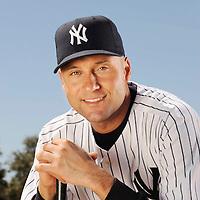 Feb 26, 2010; Tampa, FL USA..NY Yankees SS Derek Jeter..Photo by Preston Mack