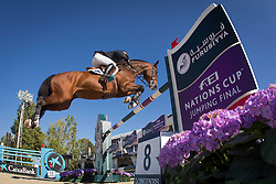 Kermond Jamie (AUS) - Quite Cassini<br /> Final First Competition<br /> Furusiyya FEI Nations Cup™ Final - Barcelona 2014<br /> © Dirk Caremans