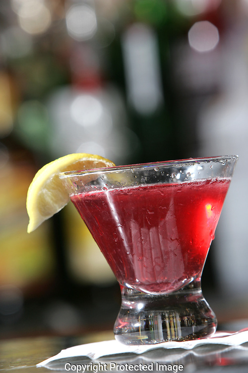 """Darby's bartender Ty Bucci's signature drink the """"Ty-tini"""" . (Jodi Miller/Alive)"""