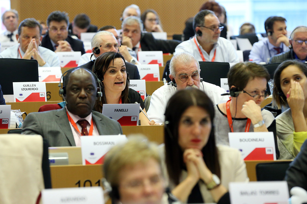 11 May 2017, 123rd Plenary Session of the European Committee of the Regions <br /> Belgium - Brussels - May 2017 <br /> <br /> FANELLI Micaela, Mayor of Riccia, Province of Campobasso, Italy<br /> <br /> &copy; European Union / Patrick Mascart