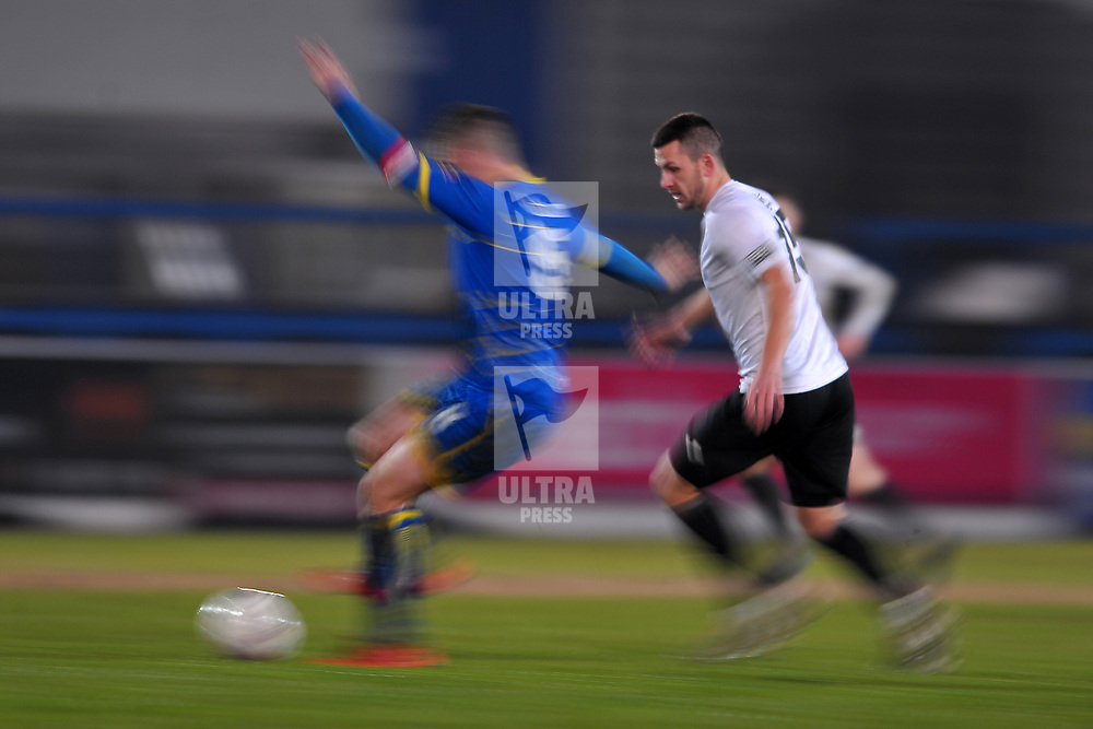 TELFORD COPYRIGHT MIKE SHERIDAN Aaron Williams during the Vanarama Conference North fixture between AFC Telford United and Alfreton Town at the New Bucks Head Stadium on Thursday, December 26, 2019.<br /> <br /> Picture credit: Mike Sheridan/Ultrapress<br /> <br /> MS201920-036