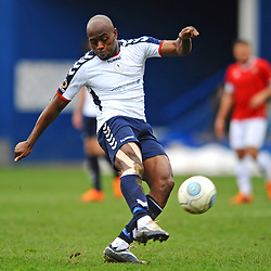 TELFORD COPYRIGHT MIKE SHERIDAN 9/3/2019 - Theo Streete of AFC Telford during the National League North fixture between AFC Telford United and FC United of Manchester (FCUM) at the New Bucks Head Stadium