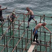 Ortigia- Extending a dock