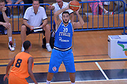 DESCRIZIONE : Trento Nazionale Italia Uomini Trentino Basket Cup Italia Olanda Italy Holland<br /> GIOCATORE : Pietro Aradori<br /> CATEGORIA : Passaggio<br /> SQUADRA : Italia Italy<br /> EVENTO : Trentino Basket Cup<br /> GARA : Italia Olanda Italy Holland<br /> DATA : 11/07/2014<br /> SPORT : Pallacanestro<br /> AUTORE : Agenzia Ciamillo-Castoria/Max.Ceretti<br /> Galleria : FIP Nazionali 2014<br /> Fotonotizia : Trento Nazionale Italia Uomini Trentino Basket Cup Italia Olanda Italy Holland