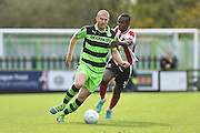 Forest Green Rovers Defender, Charlie Clough (5) during the Vanarama National League match between Forest Green Rovers and Lincoln City at the New Lawn, Forest Green, United Kingdom on 19 November 2016. Photo by Adam Rivers.