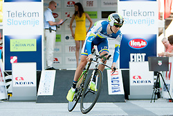Wesley Sulzberge (AUS) of Orica-Green Edge during chronometer (8,8km) of Tour de Slovenie 2013, on June 13 2013, in Ljubljana, Slovenia. (Photo by Urban Urbanc / Sportida.com)