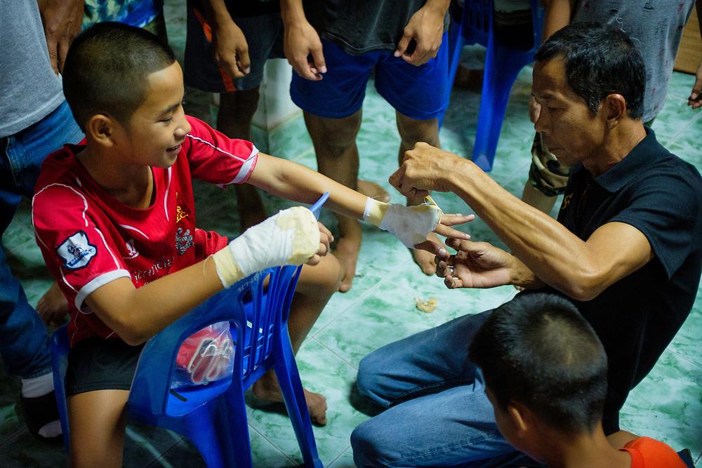 Muay Thai in Nakhon Nayok, Thailand
