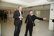 MICHAEL HOWELLS AND STEPHEN JONES, Comme de Garcons launch of their new perfume. 8 88. Phonica Records. Poland St. London. 29 November 2007. -DO NOT ARCHIVE-© Copyright Photograph by Dafydd Jones. 248 Clapham Rd. London SW9 0PZ. Tel 0207 820 0771. www.dafjones.com.