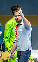 10.12.2017, BSFZ Suedstadt, Maria Enzersdorf, AUT, HLA, SG INSIGNIS Handball WESTWIEN vs Bregenz Handball, Hauptrunde, 16. Runde, im Bild Trainer Hannes Jon Jonsson (SG INSIGNIS Handball WESTWIEN) // during Handball League Austria 16 th round match between SG INSIGNIS Handball WESTWIEN and Bregenz Handball at the BSFZ Suedstadt, Maria Enzersdorf, Austria on 2017/12/10, EXPA Pictures © 2017, PhotoCredit: EXPA/ Sebastian Pucher