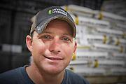 Wyffels Hybrids, corn hybrid seed company production plant manager, Illinois. Portrait.