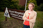 Mallory Kievman, 13, at the Talcott Mountain Science Center in Avon, CT. on October 12, 2011. Kievman came up with the idea of a lollipop that stops the hiccups in the summer of 2010 when she suffered from frequent hiccups. Mallory Kievman, 13, at the Talcott Mountain Science Center in Avon, CT. on October 12, 2011. Kievman came up with the idea of a lollipop that stops the hiccups in the summer of 2010 when she suffered from frequent hiccups.