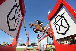 Leichle, Mike Patrick, Folinde van het Slagershof<br /> Fehmarn - Pferdefestival 2014<br /> Nationales Springen<br /> © www.sportfotos-lafrentz.de/ Stefan Lafrentz