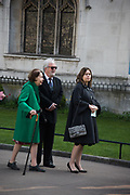 DRUISILLA BEYFUS: ALEXANDRA SHULMAN Service of thanksgiving for  Lord Snowdon, St. Margaret's Westminster. London. 7 April 2017