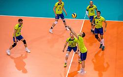 20-05-2018 NED: Netherlands - Slovenia, Doetinchem<br /> First match Golden European League / Matija Jereb #5 of Slovenia, Toncek Stern #1 of Slovenia