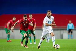 Rene Krhin of Slovenia during football match between National teams of Slovenia and Bulgaria in Group stage of UEFA Nationals League, on September 6, 2018 in SRC Stozice, Ljubljana, Slovenia. Photo by Urban Urbanc / Sportida