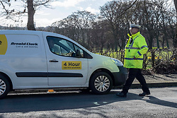 Pictured; PC Chris Beddows in action<br />