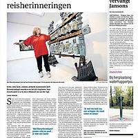 Parool 11 mei 2013: Zandvoort4 mei 2013:<br /> Minister Henk Kamp op bezoek bij de Jean-school.