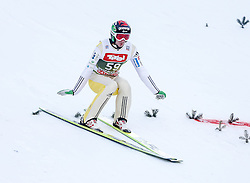 03.01.2015, Bergisel Schanze, Innsbruck, AUT, FIS Ski Sprung Weltcup, 63. Vierschanzentournee, Training, im Bild Robert Kranjec (SLO) // Robert Kranjec of Slovenia in action during Trial Jump of 63 rd Four Hills Tournament of FIS Ski Jumping World Cup at the Bergisel Schanze, Innsbruck, Austria on 2015/01/03. EXPA Pictures © 2015, PhotoCredit: EXPA/ Peter Rinderer