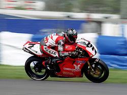 PIER FRANCESCO CHILI ITA  GATTOLONE DUCATI 916, World Superbike Championship Donington Park  4th May 1997WORLD SUPERBIKE DONN 4/5/1997
