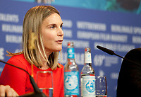 Actress, Screenwriter, Nele Mueller-Stöfen at the press conference for the film All My Loving at the 69th Berlinale International Film Festival, on Saturday 9th February 2019, Hotel Grand Hyatt, Berlin, Germany.