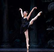 Sylvia<br /> Birmingham Royal Ballet <br /> choreography by David Bentley <br /> at the Birmingham Hippodrome, Birmingham, Great Britain<br /> rehearsal <br /> 23rd June 2015 <br /> <br /> Momoko Hirata as Sylvia<br /> <br /> <br /> <br /> <br /> <br /> Photograph by Elliott Franks <br /> Image licensed to Elliott Franks Photography Services