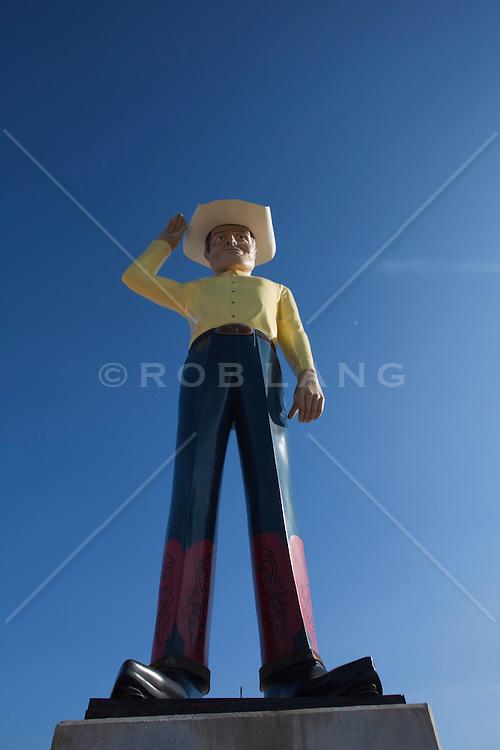 Oversized Cowboy figure
