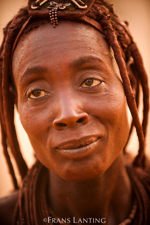 Himba woman, Kaokoland, Namibia