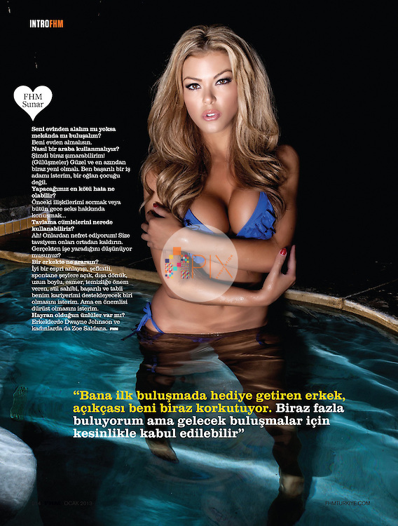 Vivian Kindle in FHM Turkey :: January 2013