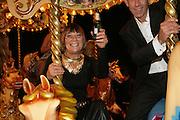 Hilary Alexander and Ben de Lisi, Moet Mirage, Holland Park. 16 September 2007. -DO NOT ARCHIVE-© Copyright Photograph by Dafydd Jones. 248 Clapham Rd. London SW9 0PZ. Tel 0207 820 0771. www.dafjones.com.