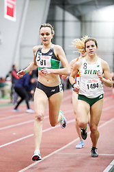 womens Mile, heat 2, Battle Road TC, NB, <br /> BU John Terrier Classic <br /> Indoor Track & Field Meet