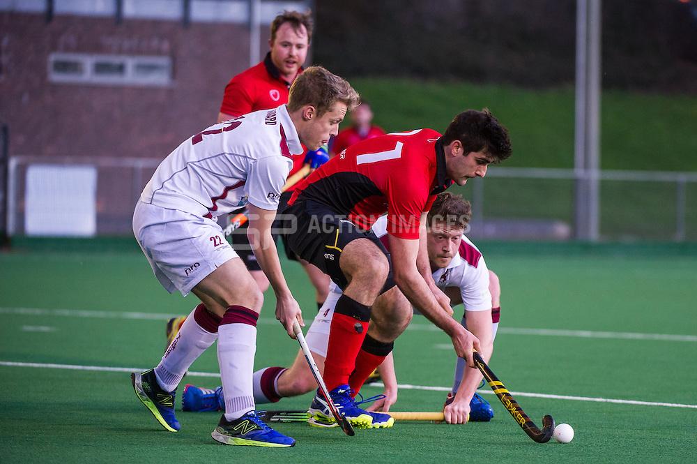 Southgate v Richmond  - Men's Hockey League - East Conference, Trent Park, London, UK on 05 March 2017. Photo: Simon Parker