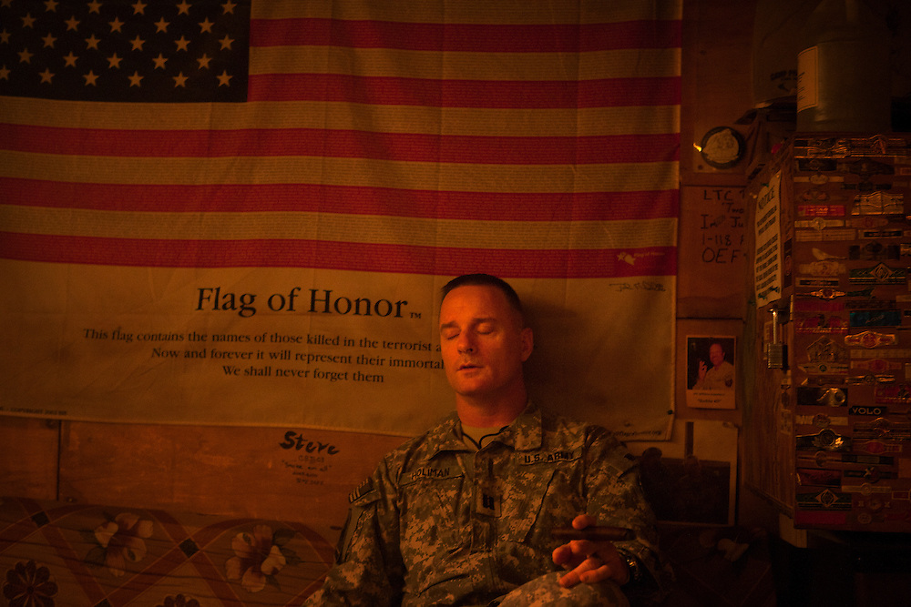 More than 2,000 Iowans deployed to Afghanistan as part of Operation Enduring Freedom. The Red Bulls patch emblazoned on their shoulders carried honor and tradition unparalleled in the National Guard, but for Afghans, who saw the devil in the horned silhouette, it symbolized fear. <br />