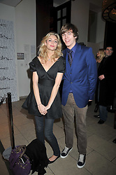 TAMSIN EGERTON and NICHOLAS HOULT at the MAC Salutes party paying tribute to renowned makeup artists held at The Hosptal, Endell Street, London on 22nd February 2009.