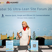 5G World at Excel London, on 11 June 2019, UK